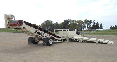 New Onboard Truck Ramps Saves Portable Unloader Owners Time During Setup
