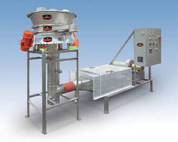 Circular Fluid Bed Dryer cuts cleaning time.