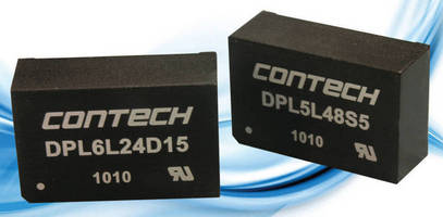 High Isolation, 5-6 W DC/DC Converter has UL 60601 approval.
