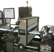 Laser Scoring System integrates with pouching equipment.