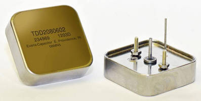 High Power Discharge Capacitors for Phased Array Radar and Pulse Laser Targeting are Introduced by Evans Capacitor.