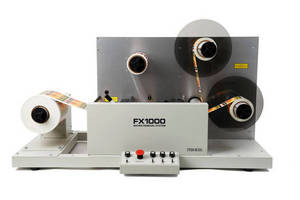 Label Matrix Removal System streamlines label roll preparation.