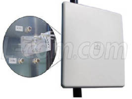 Flat Panel Antennas withstand heavy-duty outdoor use.