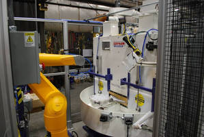 Precision Blast System Has Robotic Automation