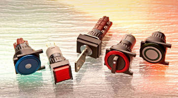 Industrial Switches target high-tech operator controls.