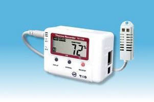 Ethernet Data Loggers measure temperature and humidity.