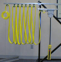 Festooning Systems accommodate flat or round cable.