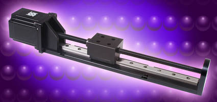 Linear Rail System supports cantilevered loading applications.