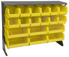 Louvered Floor Rack expands storage, workspace options.