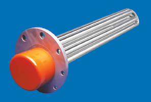 Flange Immersion Heaters help control process temperatures.