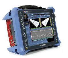 Flaw Detector utilizes phased array and ultrasound modules.
