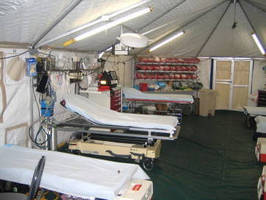 Emergency Tent Shelter Lighting Systems in High Demand for Disaster Relief Operations During Hurricane Sandy