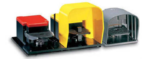 Industrial Foot Switches allow hands-free equipment control.