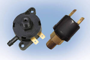 Pressure Switches target many OEM applications.