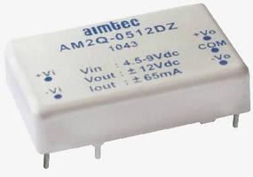 DC/DC Power Supplies feature multi-layer ceramic capacitors.