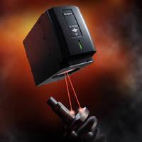 Fiber Laser Marker utilizes 3-axis technology.