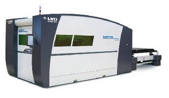 Fiber Laser Cutting System accelerates sheet metal processing.