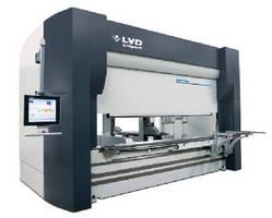 Press Brake integrates automated tool changer unit.