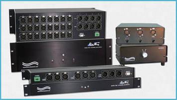 XLR Switches provide network support for TV/radio stations.