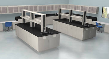 IAC Introduces NEW Eclipse(TM) Series Laboratory Casework, Reagent Rack Shelving and Wall Cabinets