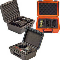 Specialty Camera Cases feature custom foam interiors.