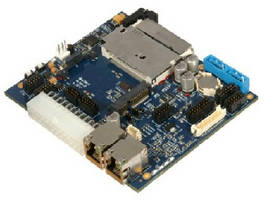 Carrier Card hosts Type 2 or Type 3 COM Express® modules.