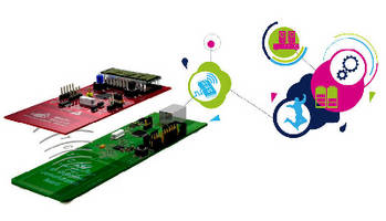Energy Harvesting Kit supports battery-free memory applications.