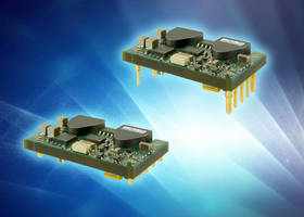 Regulated, 100 W DC/DC Converters offer efficiencies up to 92%.