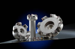 Face Mill Cutter accepts double-sided inserts.