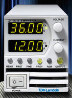 Programmable DC Power Supplies suit ATE applications.