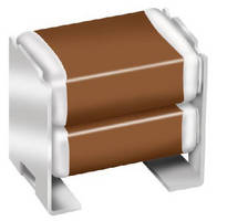 High Voltage Bulk Capacitors feature vertically stacked design.