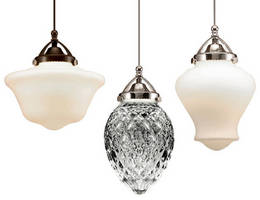LED Pendants feature traditional lighting styles.