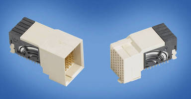 Shield-Less Connector is designed for 12.5 Gbps applications.