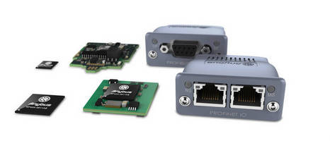 Embedded Communications Router connects to industrial networks.