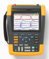 Handheld Oscilloscope achieves 500 MHz at 5 GSPS sample rate.