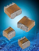 Stacked MLC Capacitors incorporate High K Super X7R dielectric.