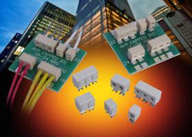 Wire-To-Board Capped IDCs facilitate termination process.