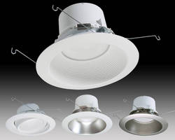 LED Recessed Downlighting System offers multiple lumen packages.