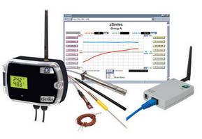Wireless Transmitter/Sensor System enables Web-based monitoring.