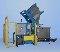 Lift & Seal(TM) Container Discharging and Feeding System