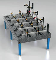 Five-Face Welding Table is designed for heavy-duty fixturing.