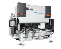LVD Strippit Precision Hydraulic Press Brake with Easy-Form® Laser Adaptive Bending System on Display at FABTECH