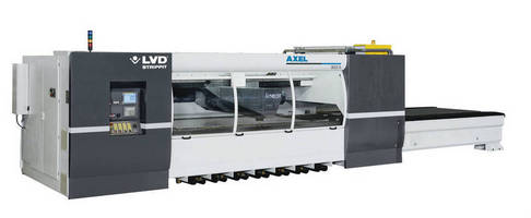 LVD Strippit to Display Axel 3015 S Linear Laser Cutting System at FABTECH