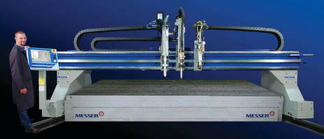 Cutting Machine produces smooth cut edge, precise holes.