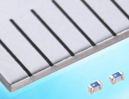 Compact Chip Inductor offers inductance values to 270 nH.