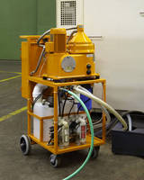 Eriez® Hydroflow® Portable Tramp Oil Separator Features Compact Design for Small Metalworking Plants
