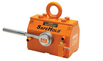 Eriez' SafeHold® Permanent Lifting Magnets Make Jobs Safer and Easier