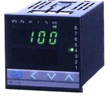 Liquid Level Meter provides specific gravity compensation.