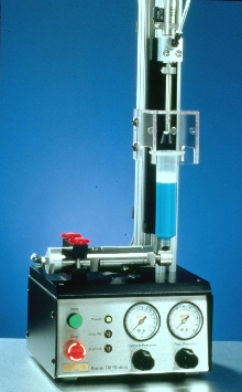 Syringe Filling Systems offer consistent adhesive packaging.