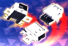 Connectors meet IEEE 1394 standards.